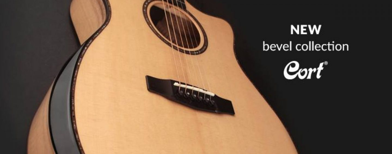 Cort apresenta guitarras acústicas da coleção Bevel Cut