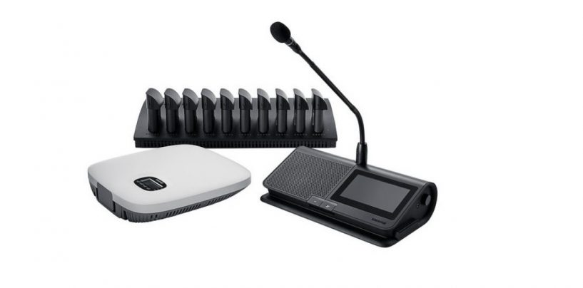 MicroflexCompleteWireless da Shure, uma solução para conferências