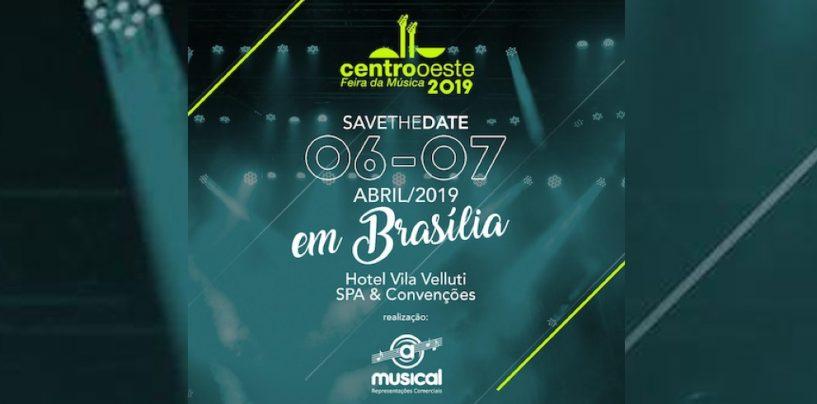 Feira da Música do Centro-Oeste será no primeiro final de semana de abril