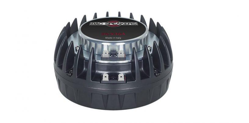 Prolight+Sound 2019: B&C apresenta o driver de compressão coaxial DCX464