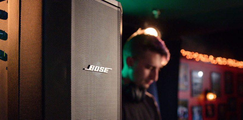 Bose Professional nomeia Musical Express como sua nova distribuidora no Brasil