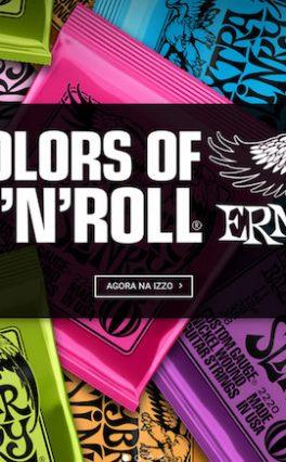 Izzo Musical distribuirá Ernie Ball no Brasil