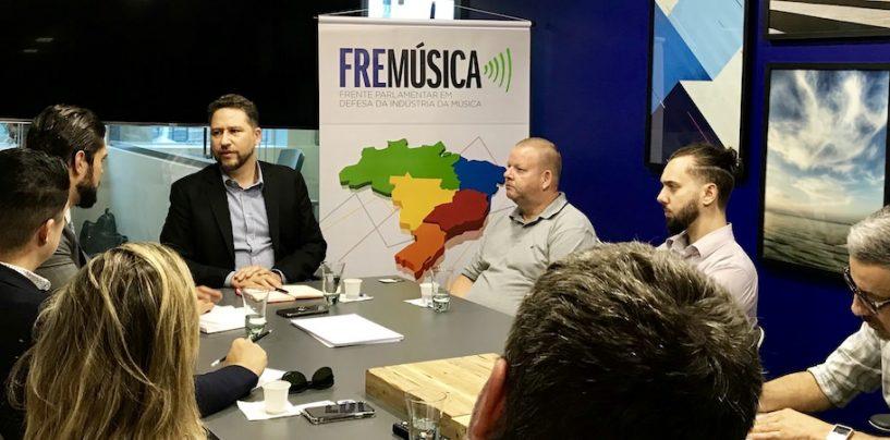 Frente Parlamentar em Defesa da Indústria da Música (FREMÚSICA) realiza nova reunião