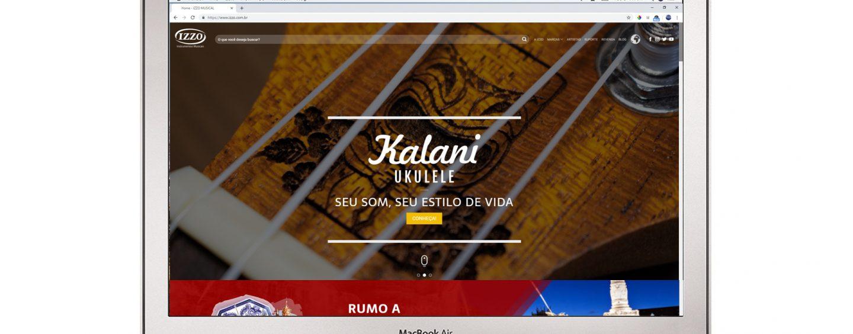 Izzo Musical estreia hoje novo site