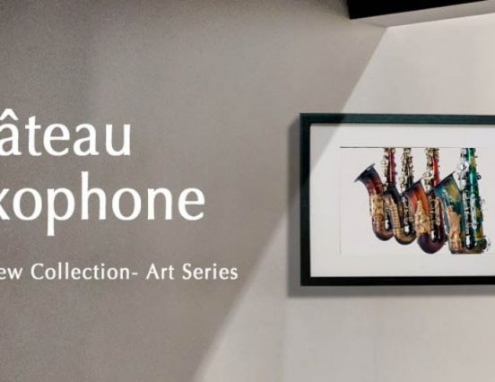 Château apresenta os saxofones da Série Art