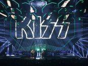A turnê mundial do Kiss iluminada com o Dartz 360 da Elation