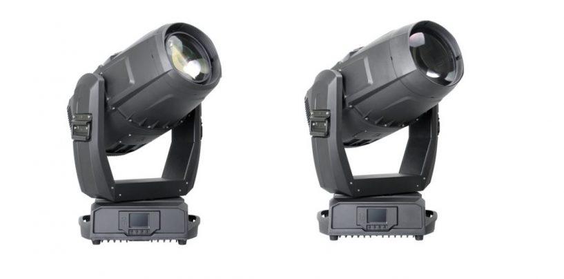 PR Lighting adiciona o 580 BWS/Beam à série Aqua
