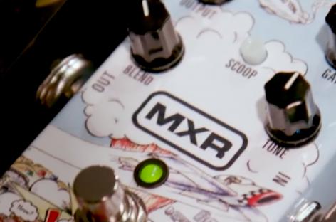 Dunlop celebra com os Green Day apresentando o pedal MXR Dookie Drive