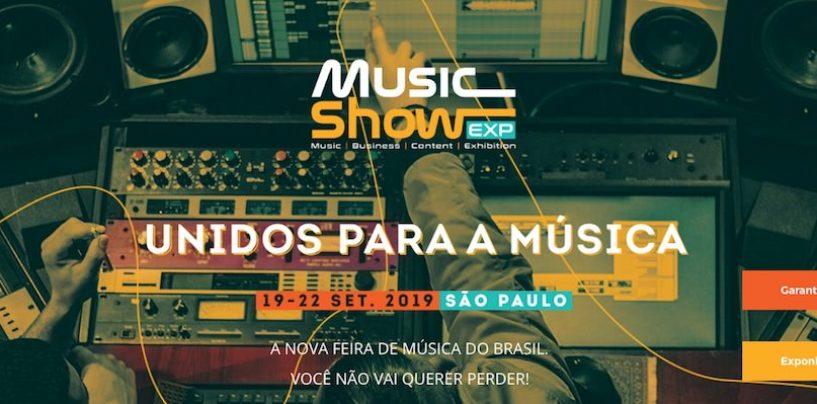 Feira Music Show EXP trará lojistas escolhidos pelos expositores e faz parceria com Grupo Era