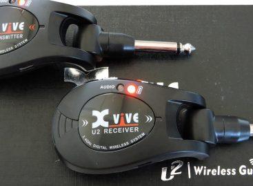 Transmissor wireless Xvive U2 para guitarra, baixo, violão ou violino elétrico
