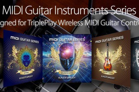 Fishman anuncia a disponibilidade de instrumentos de guitarra MIDI para TriplePlay