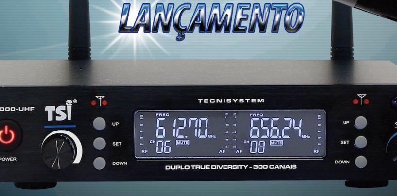 Novo microfone BR-7000 da TSI