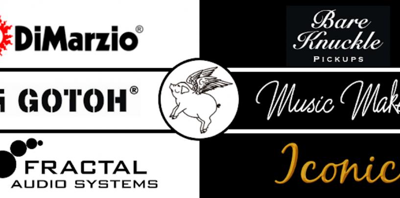 Piguitars disponibiliza marcas selecionadas e até suporte técnico on-line