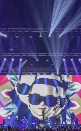 O sistema VIO L212 da dBTechnologies acompanha Daddy Yankee
