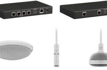 Audix lança sistema de microfone integrado Dante|AES67