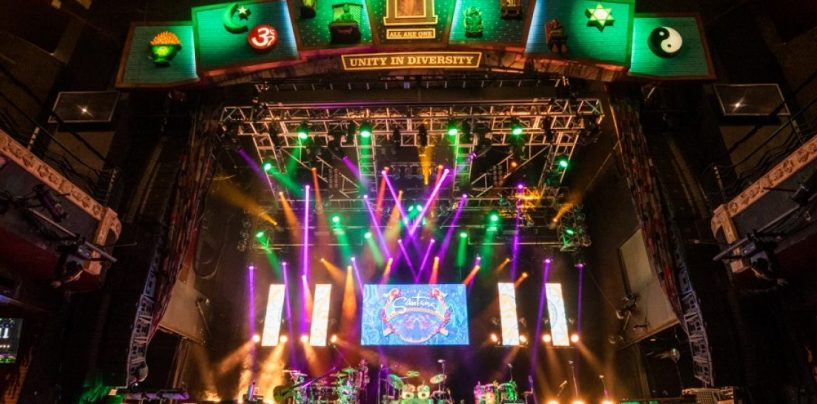 House of Blues iluminada com a Elation