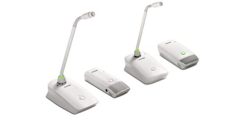 Shure lança os transmissores Microflex Wireless MXW e ULX-D em branco