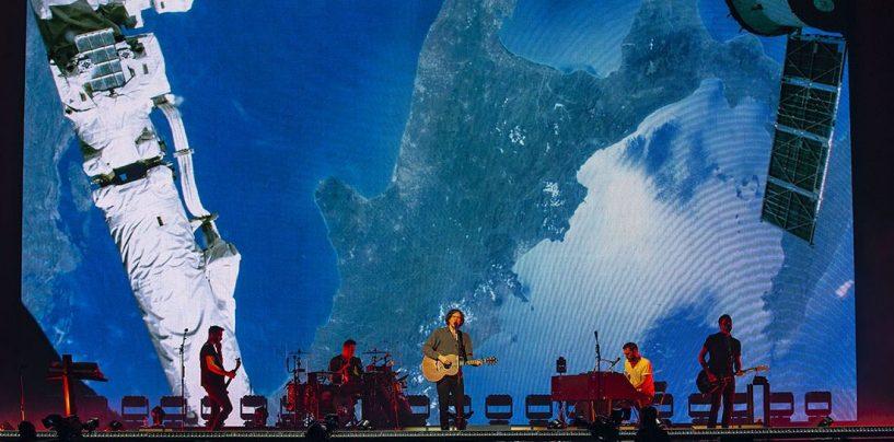 Processador Newton da Outline em turnê com os Snow Patrol