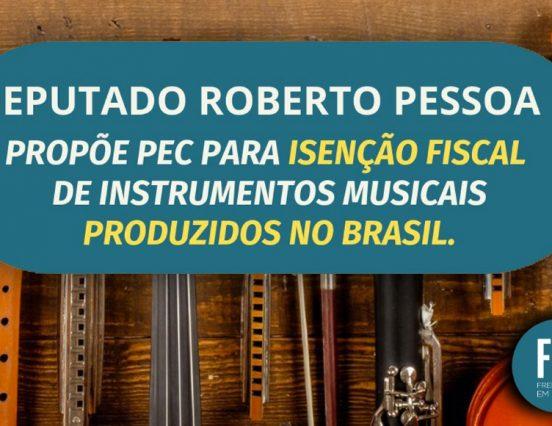 Frente Parlamentar em Defesa da Indústria da Música propõe PEC para redução de impostos para instrumentos musicais