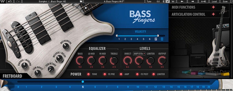 Bass Fingers é o novo plugin da Waves Audio