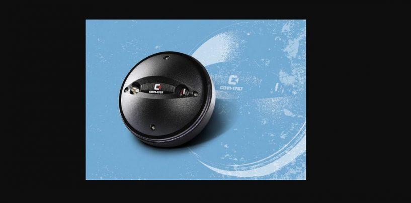 Driver de compressão CDV1-1757 da Celestion disponível em todo o mundo