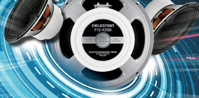 Celestion anuncia disponibilidade do alto-falante de guitarra F12-X200