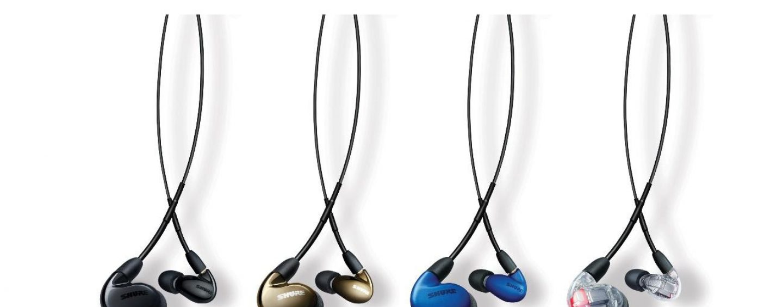 Shure atualiza linha de fones de ouvido SE