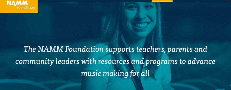 Fundação NAMM concede bolsas para 28 programas de criação musical