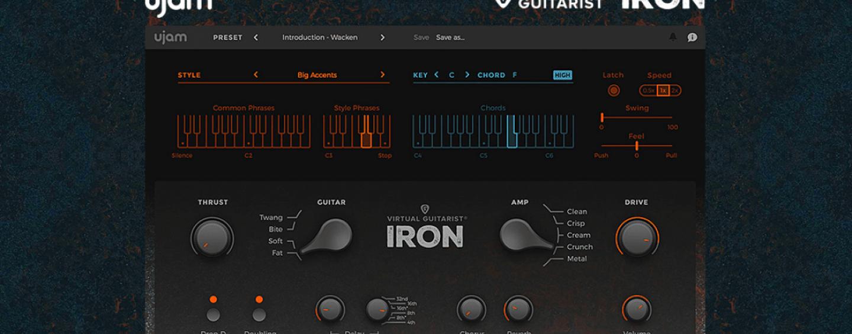 Focusrite oferece o plug-in Virtual Guitarist Iron da UJam
