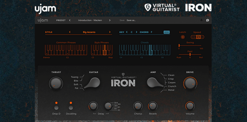 Focusrite oferece o plug-in Virtual Guitarist Iron da UJam