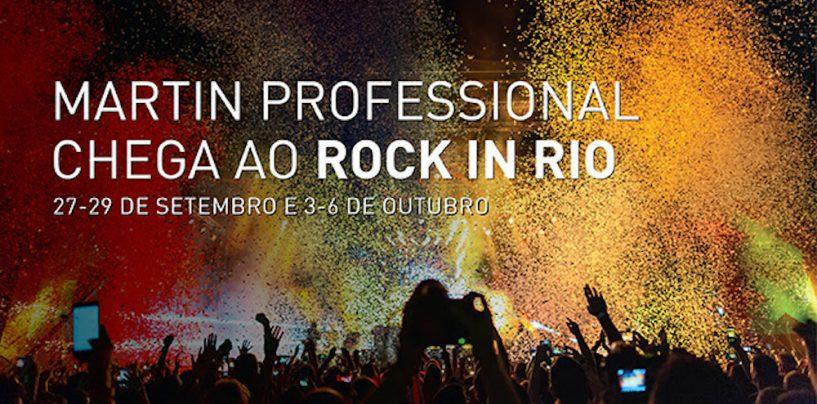 Rock in Rio contará com luzes da Martin