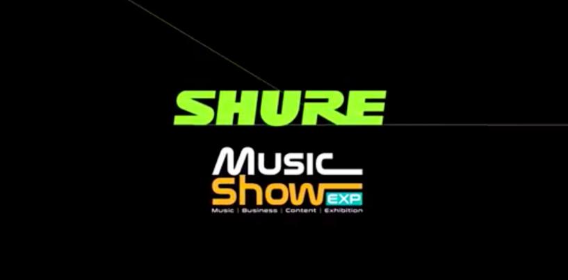 Music Show: Shure apresentará linha Motiv