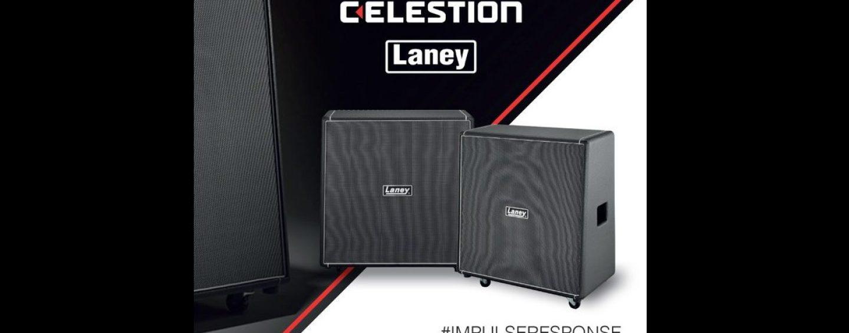 Celestion apresenta a Laney Cabinets Collection de Impulse Responses