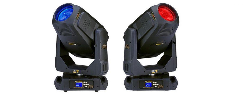 High End Systems apresenta o moving SolaWash 1000