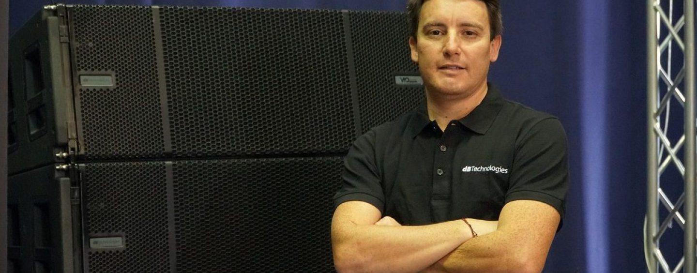 Jeans A. Carter L. é o novo gerente de vendas para a América Latina da dBTechnologies