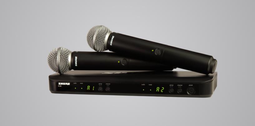 Promoções da Shure para adquirir kits de áudio