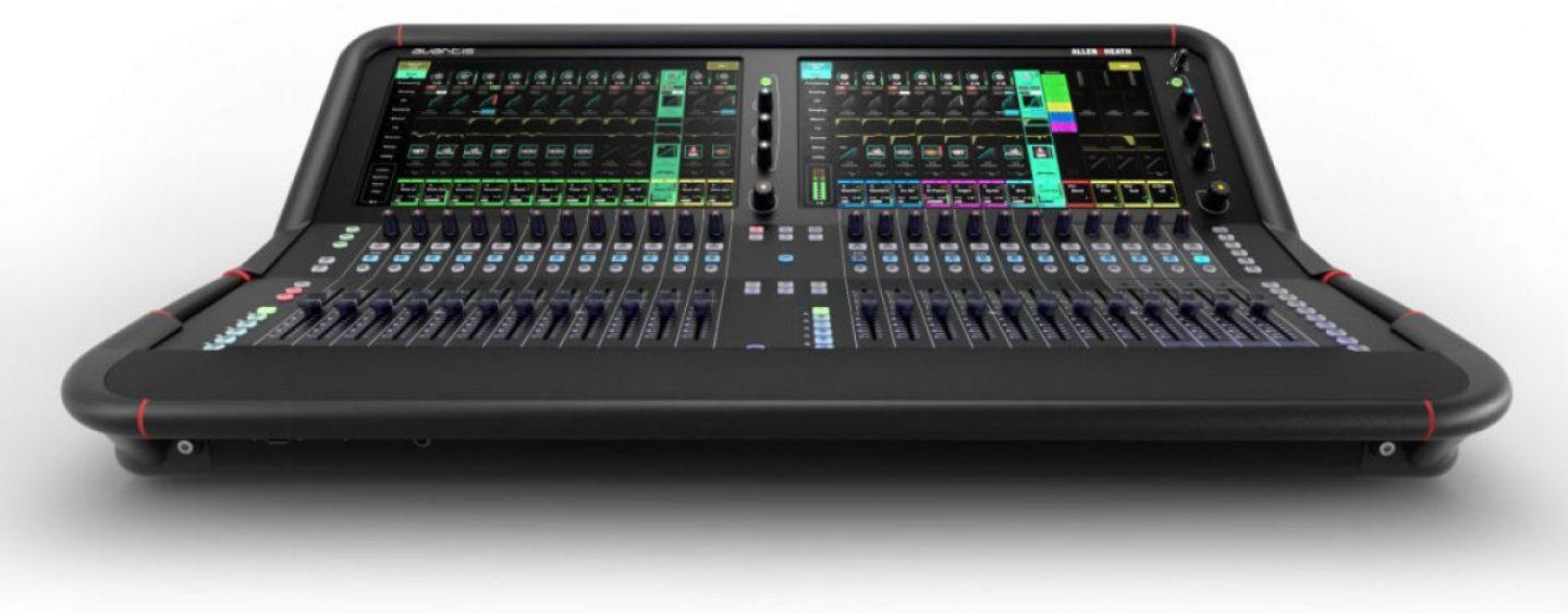 Allen & Heath anuncia seu novo mixer Avantis
