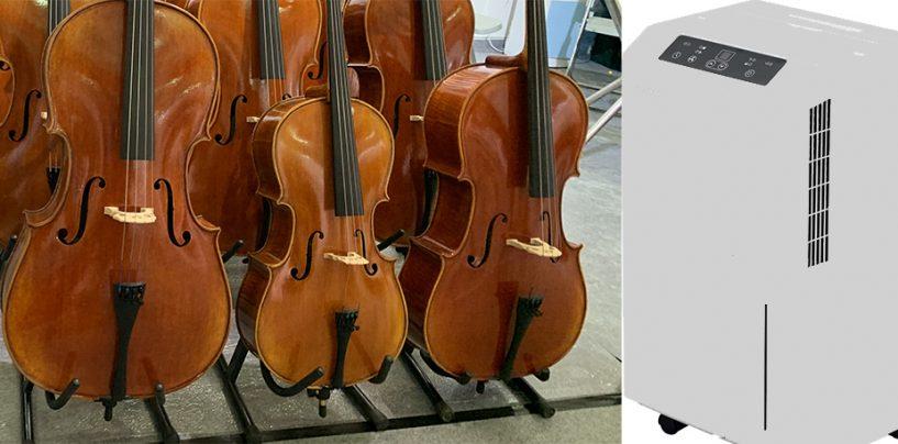 Já pensou em usar um desumidificador para instrumentos musicais?
