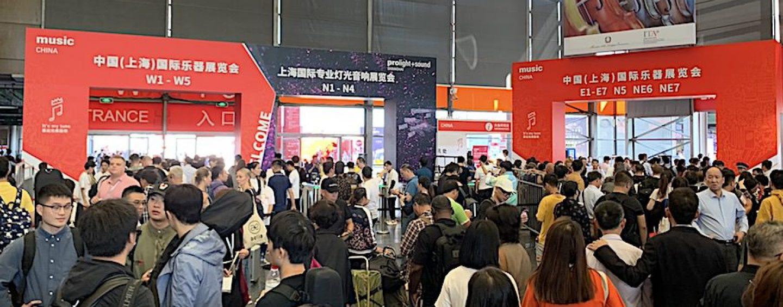 Music China e Prolight Sound Xangai: A maior feira de instrumentos musicais da China