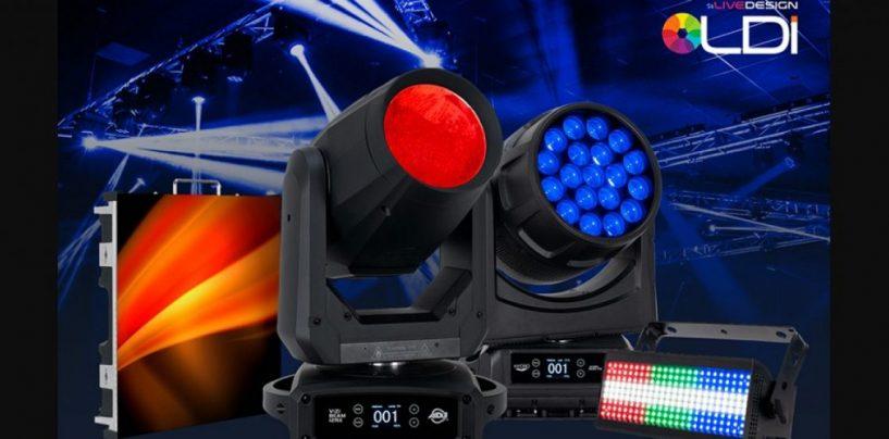 ADJ revela novas luzes e aparelhos de vídeo