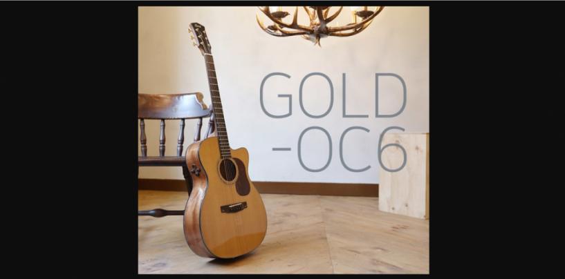 A guitarra Gold-OC6 se junta à série Gold da Cor