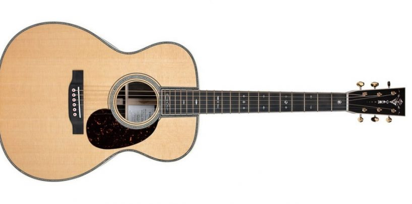 Novo violão 00042EC-Z Eric Clapton Crossroads da Martin Guitar