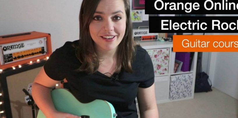 Orange Amplification lança cursos de guitarra Orange Rock