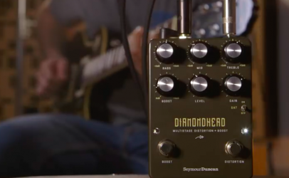 Diamondhead é o novo pedal Distortion + Boost da Seymour Duncan