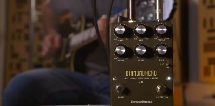 Diamondhead é o novo pedal Distortion + Boost da Seymour Duncan