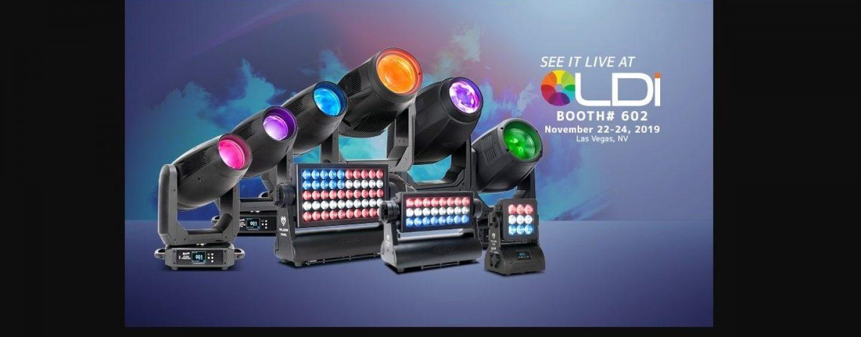 LDI 2019: Elation apresenta sua ampla linha de produtos