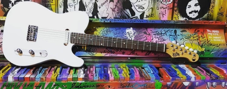 Guitarras custom da Aslan Guitars, de Minas Gerais