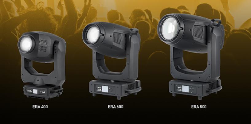 Movings da ERA Performance 400, 600 e 800 são a novidade da Martin Professional
