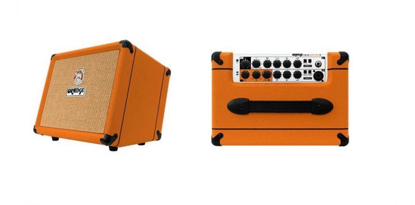 Orange lança amplificador Crush Acoustic 30