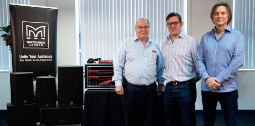 Grupo Focusrite compra a Martin Audio
